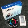 Life Light Led Ovális RGB led szalag vezérlő fehér, rádiós DC12V, 216W terhelhetőség, érintős, 1 év garancia led