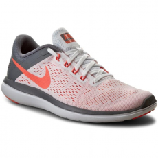 Nike Cipők NIKE - Nike Flex 2016 Rn 830751 101 White/Bright Mango/Cool Grey