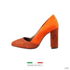 Made In Italia készült Italia női magassarkú cipő GIADA_CUOIO-ZUCCA