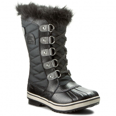 SOREL Hótaposó SOREL - Youth Tofino II NY2419-010 Black/Quarry