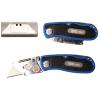 Trapéz pengés összecsukható kés, 145 mm (BGS 50605)