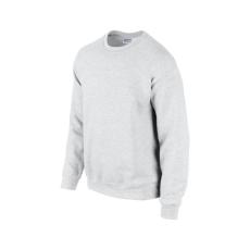 GILDAN környakas unisex pulóver, világosszürke