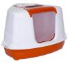 ,Moderna, macska filteres flip sarok wc (oranžový) macskatoalett