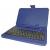 Silverline 7 puzdro na tablet klávesnica +toll (modrý)