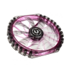 Bitfenix COOLER BITFENIX Spectre PRO LED Purple 230mm (fekete)
