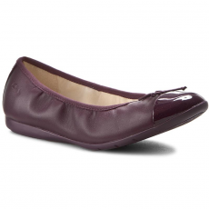 Clarks Balerina CLARKS - Dance Puff Jnr 261201866 Purple Leather