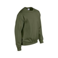 GILDAN kereknyakú pulóver, military