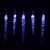 Karácsonyi dekoratív világítás- jégcsapok - 40 LED kék
