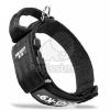 Julius-K9 fogós nyakörv, cserélhető felirattal - fekete 38-53 cm / 40 mm (100HA-K-R-2015)