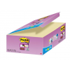"""3M POSTIT Öntapadó jegyzettömb csomag, 48x48 mm, 24x90 lap, 3M POSTIT """"Super Sticky"""", sárga"""
