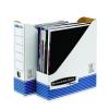 FELLOWES Iratpapucs karton 80 mm kék-fehér <10 db/csom> FELLOWES