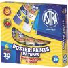 Astra Tempera -83119900- 6db színes műanyag tubus 30ml ASTRA <10klt/csom>