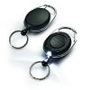 DURABLE Kulcstartó karikával jojós, led lámpával 80cm DURABLE