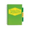 """Pukka pad Spirálfüzet, A5, kockás, 100 lap, PUKKA PAD """"Project book Neon"""", zöld"""
