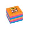POST-IT Jegyzettömb öntapadós 654-6SS-EG Super Sticky szivárványos