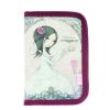 Mirabelle Tolltartó 2 klapnis rózsaszín-szürke All For Love MIRABELLE