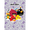 AngryBirds Füzet (86-32) A4 HANGJEGY Angry Birds Purple <20db/csom>