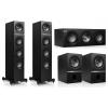 Kef Q500 5.0 házimozi reproduktor kis set (Q500+Q100+Q200c) (čierny)