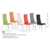 Halmar K3 krém fém lábas étkező szék
