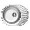 Deante Twist rozsdamentes mosogató egy medence + csepegtető szatén 58x45x16 cm