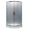 Leziter Spirit Matt 90x90x180 cm-es íves zuhanykabin, zuhanytálca nélkül