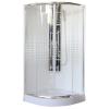 Leziter Spirit Mátrix íves 90x90x194 cm minőségi zuhanykabin , erősített akril zuhanytálcával