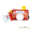 Fisher-Price Plüss fényképezőgép tükör (DFR11) fisher price