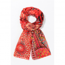 Desigual Foulard Rectangle Lluka Sál D (67w54a4-p_3074-Rojisimo)