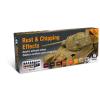 Vallejo Rust & Chipping Effects festék szett Vallejo 71186