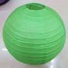Lampion rizspapírból, 40 cm zöld