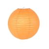Lampion rizspapírból, 30 cm narancssárga