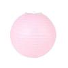Lampion rizspapírból, 40 cm rózsaszín