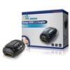 HQ AVREPEAT-35 High Speed HDMI adapter fekete