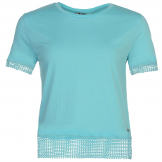 Lee Cooper Top felső Lee Cooper Crochet Trim női