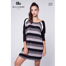 BILLIONBE by bebe 2472A Fekete ruha bebe/2be