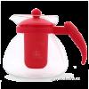 DEDRA Üveg kancsó 1500 ml - piros (Üveg kancsó 1500 ml - piros)