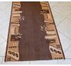 Barna drapp mintás futószőnyeg 80cm/Cikksz:0532142 lakástextília