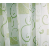 Fehér voila vitrage függöny zöld mintával/0016/Cikksz:01121774