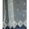 Fehér jaquard kész függöny szolid mintával/0016/Cikksz:01121580