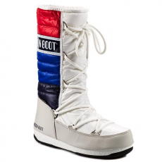 Moon Boot Hótaposó MOON BOOT - Quilted 24003400005 White/ Blue/ Red