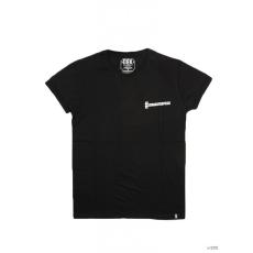 Dorko Unisex Rövid ujjú T Shirt BLACK DRK BACK TEE