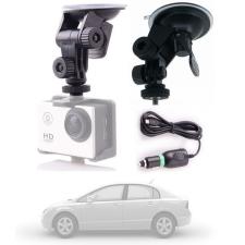 Sec-CAM SJ-GK, AUTÓS KONZOL és TÖLTŐ akciókamerához - így autós kameraként is használható - SJCAM akciókamerákhoz - SJCAM SJ4000, SJ5000, X1000 sorozatokhoz videókamera kellék