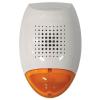 Satel SD3001O sziréna, kültéri hang-fényjelző, narancssárga színű LED fényjelzővel