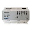 Roger PS-30DR 35 mm-es DIN sínre szerelhető kapcsolóüzemű tápegység, bemenet 230 Vac/50 Hz, 42 W
