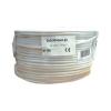 VEZETÉK 6x0.22+2x0.5 (mm²), 6 eres erősített biztonságtechnikai, riasztó kábel