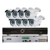 EuroVideo EVS-C08/IC720PA28 CVI szett, 1 db EVD-C08/100A1FH, 8 db EVC-TC-IC720PA28