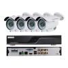 EuroVideo EVS-C04/IC1080PA28 CVI szett, 1 db EVD-C04/50A1FH, 4 db EVC-TC-IC1080PA28