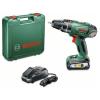 Bosch PSB 18 LI-2 akkus ütvefúró-csavarozó + koffer (2,5 Ah)