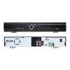 EuroVideo EVD-IP16/400FH 16 csatornás IP rögzítő,1080p/25 fps/csat. rögz., 1 VGA, 1 HDMI, 2x2 TB HDD, 12 VDC 15 W