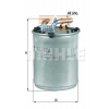 MAHLE ORIGINAL (KNECHT) MAHLE ORIGINAL KL778 üzemanyagszűrő